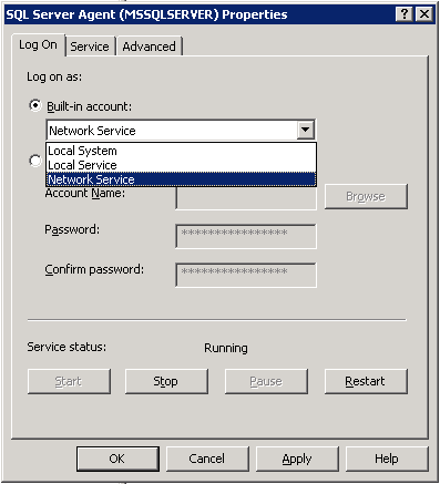 Figura 1.2 - Service Account